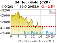 Czech koruna Gold 24 Hour